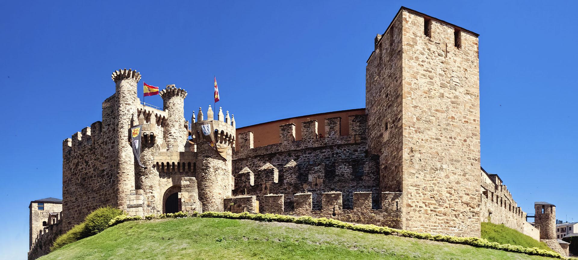 Château des Templiers à Ponferrada | spain.info en français