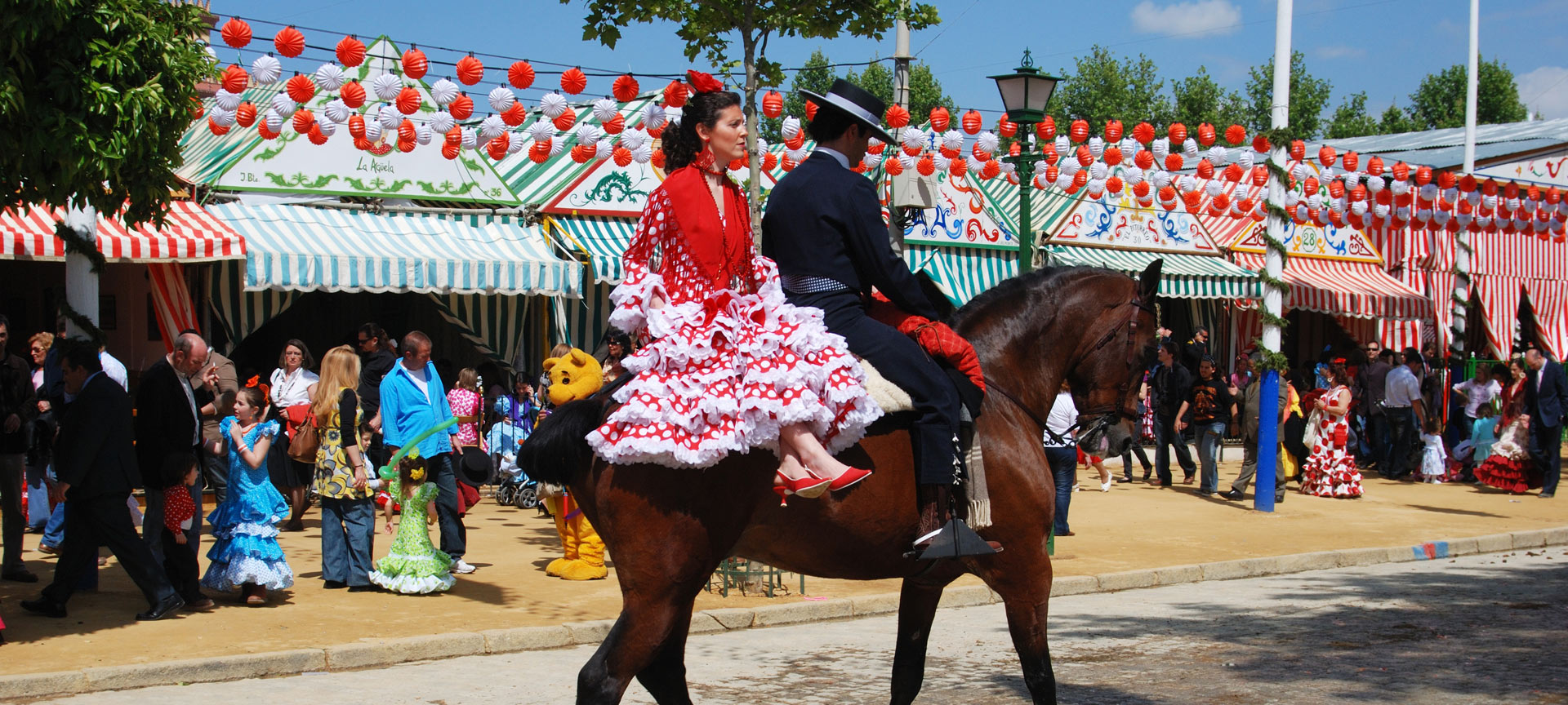 Feria de Abril. Feste a Seville | spain.info in italiano